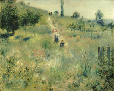 Auguste Renoir Ansteigender Weg durch hohes Gras, 1876/77 Öl auf Leinwand, 60 x 74 cm Musée d'Orsay, Paris © Musée d'Orsay, Dist. RMN-Grand Palais / Patrice Schmidt