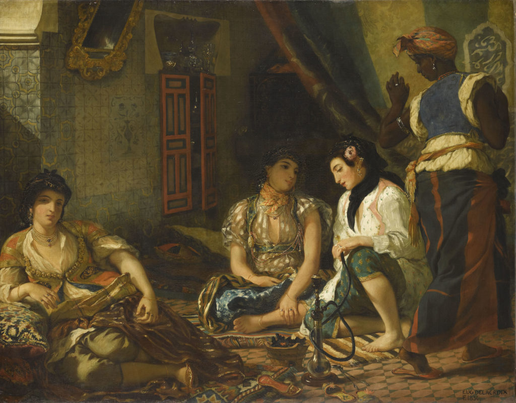 Gott des Gemetzels: Eugène Delacroix im Louvre   WELTKUNST