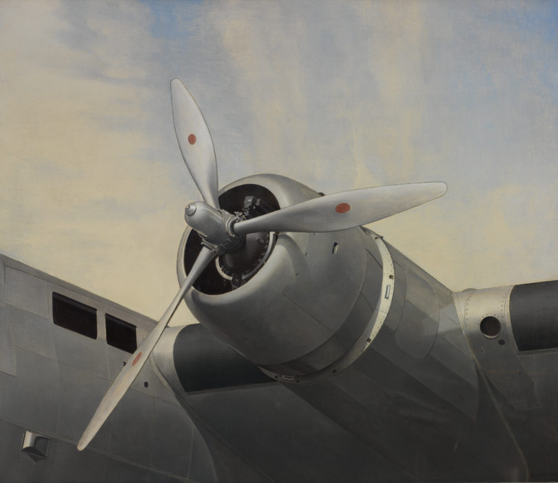 Charles Sheeler, Yankee Clipper, 1939, Museum of Art, Rhode Island School of Design, Providence, Jesse Metcalf Fund and Mary B. Jackson Fund, Foto: Erik Gould