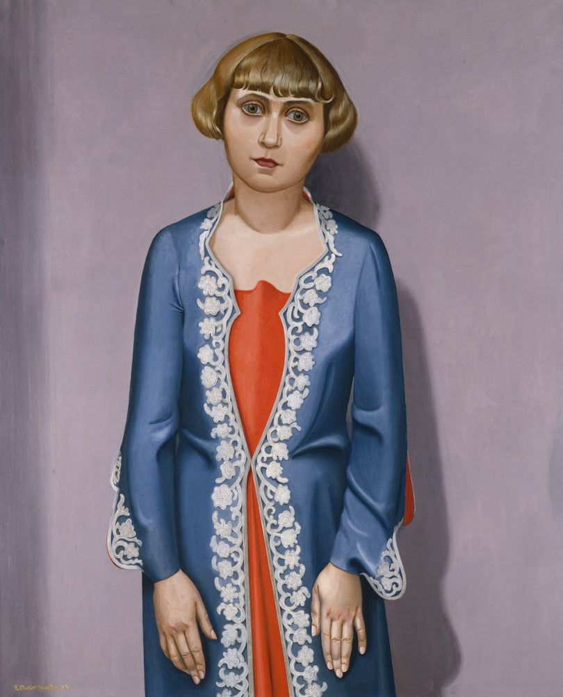 Niklaus Stoecklin Bildnis meiner Frau, 1930 Öl auf Leinwand, 100 x 81 cm Kunsthaus Zürich, Sammlung Dr. H.E. Mayenfisch, 1930 © 2018 ProLitteris, Zürich