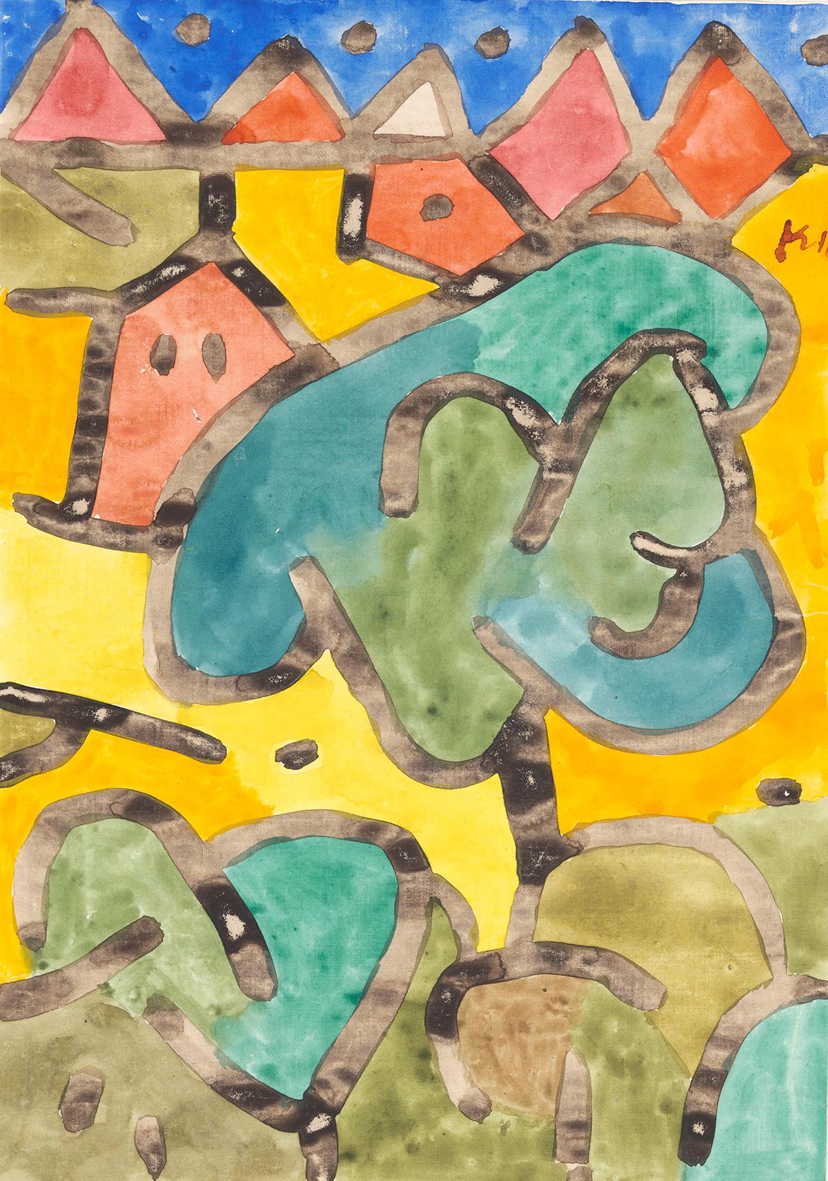 Paul Klee, Kleiner Obstgarten, 1939 © Privatbesitz, Schweiz, Depositum im Zentrum Paul Klee, Bern