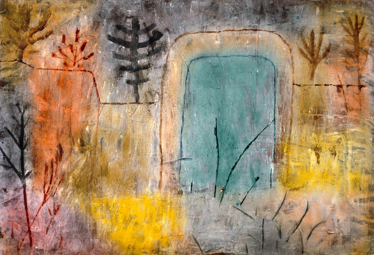 Paul Klee, Tor zum verlassenen Garten, um 1935 © Privatsammlung Bern
