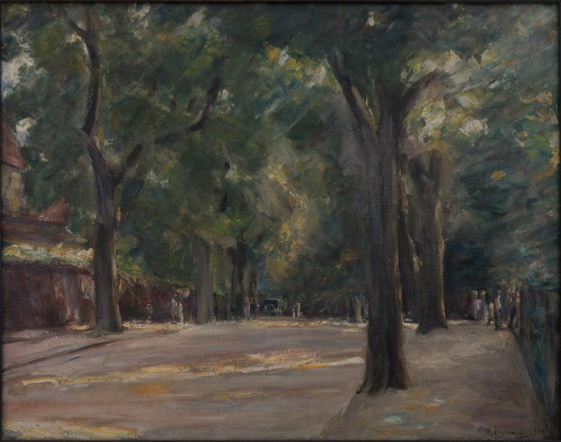 Max Liebermann, Große Seestraße am Wannsee, 1923. Foto: Schweizer Eidgenossenschaft