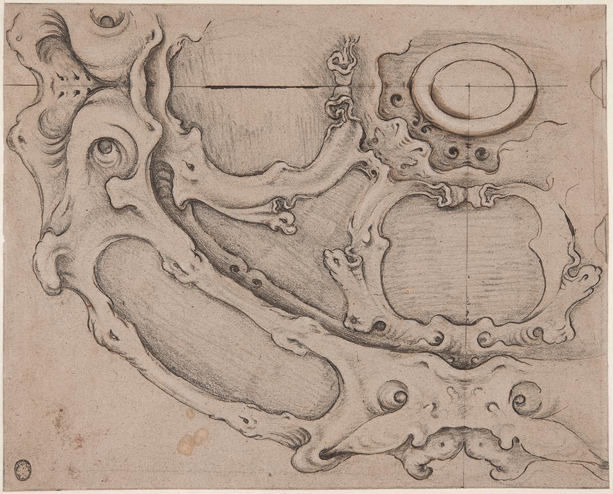 Entwurf für ein Basin, Adam van Vianen zugeschrieben, ca. 1610–1627, Stockholm, Nationalmuseum, Foto: Rijksmuseum