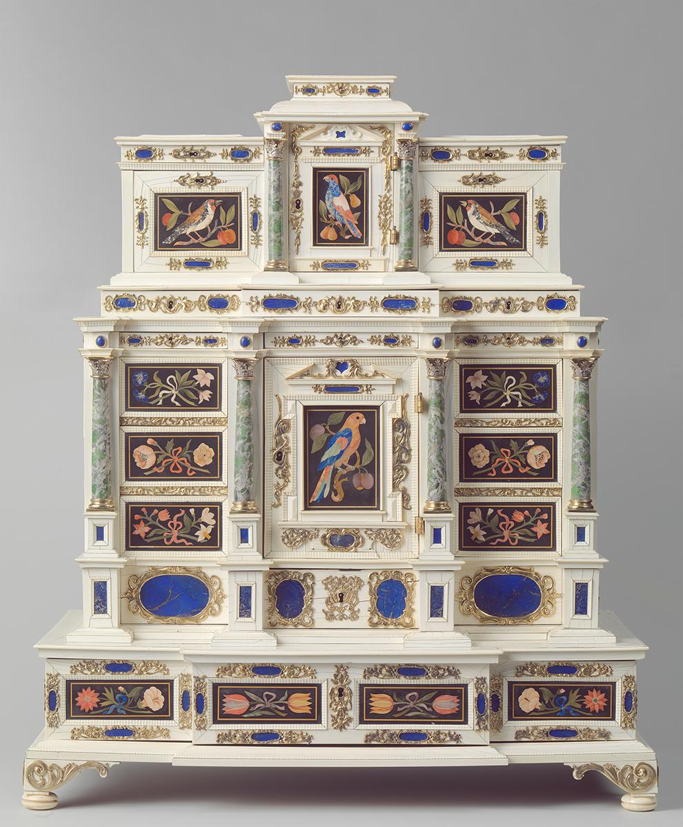 Kabinett eines anonymen Künstlers, ca 1660-1670, Foto: Rijksmuseum