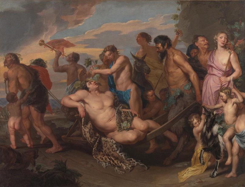 """Michaelina Wautiers monumentales """"Bacchanal"""" entstand vor 1659, Foto: Kunsthistorisches Museum, Wien"""