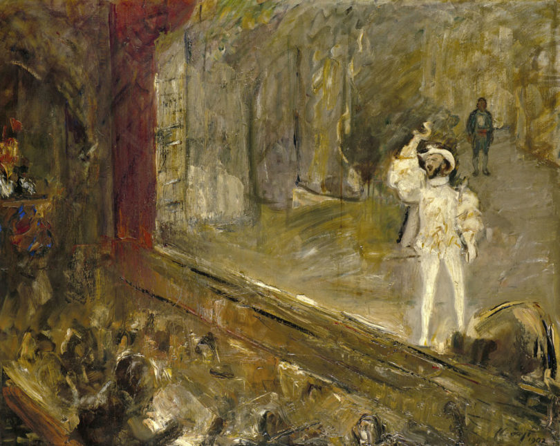 Max Slevogt, Die Champagnerarie aus Don Giovanni (d'Andrade an der Rampe), 1902 © Landesmuseum Hannover