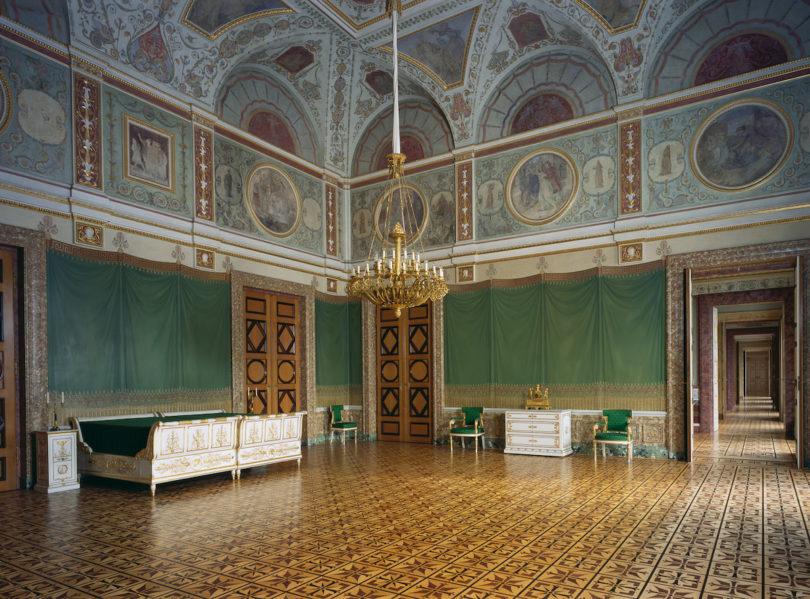 Appartement der Königin, Schlafsaal, Foto: Rainer Herrmann, Maria Scherf © Bayerische Schlösserverwaltung