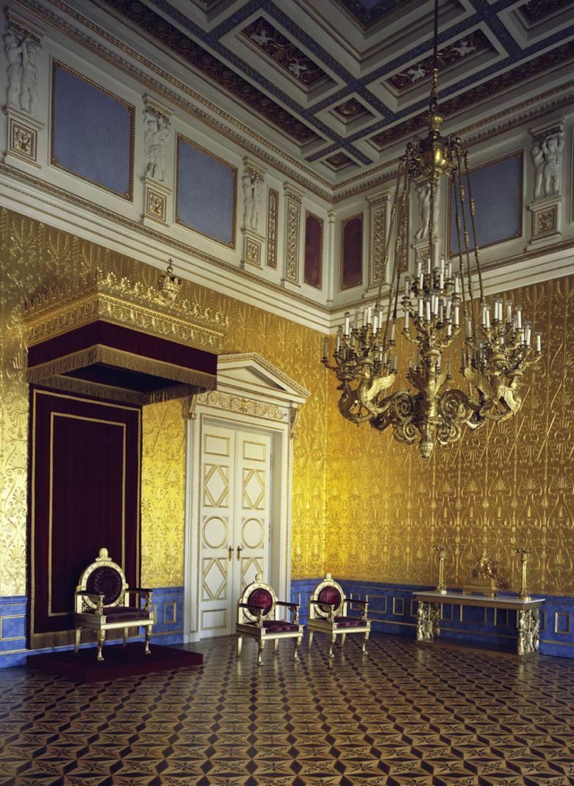 Appartement der Königin, Thronsaal, Foto: Rainer Herrmann, Maria Scherf © Bayerische Schlösserverwaltung