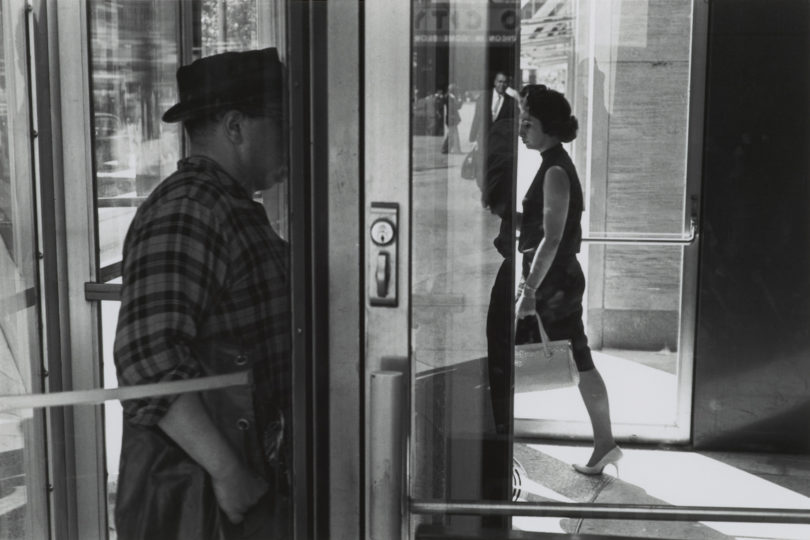 Lee Friedlander, New York City, 1963, Gelatinesilberpapier, nach 1969 © Lee Friedlander, courtesy Fraenkel Gallery, San Francisco, Reproduktion: Rheinisches Bildarchiv Köln