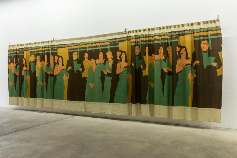 Beatriz González, Decoración de Interiores, 1981, Installationsansicht in der Ausstellung Retrospective 1965–2017, KW Institute for Contemporary Art, Berlin, 2018, Foto: Frank Sperling
