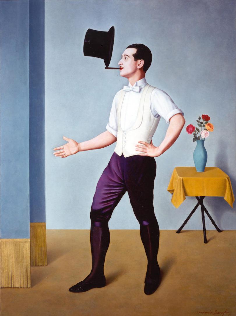 Antonio Donghi, Der Jongleur, 1936, Öl auf Leinwand, Privatsammlung, Foto: Museum Folkwang