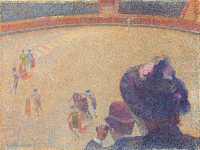 Henri-Edmond Cross, Stiefkampf, um 1891-1892, Privatbesitz