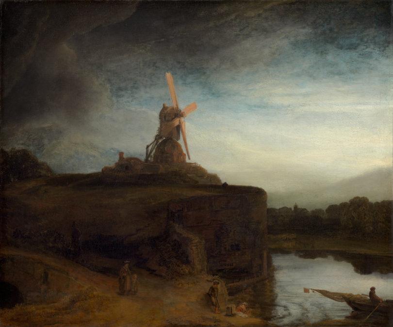 Rembrandt van Rijn, Die Mühle, 1645–48, Öl auf Leinwand, Washington, DC, National Gallery of Art, Widener Collection, 1942.9.62, Courtesy: National Gallery of Art, Washington
