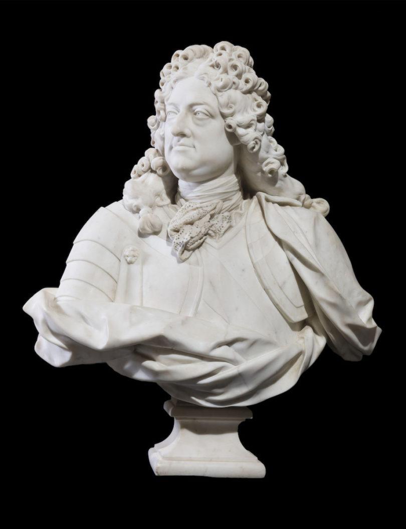 Jean-Louis Lemoyne, Porträt des Philippe II., duc d'Orleans, 1720, Marmor, Foto: Christophe Fouin/RMN-Grand Palais/Art Resource, NY