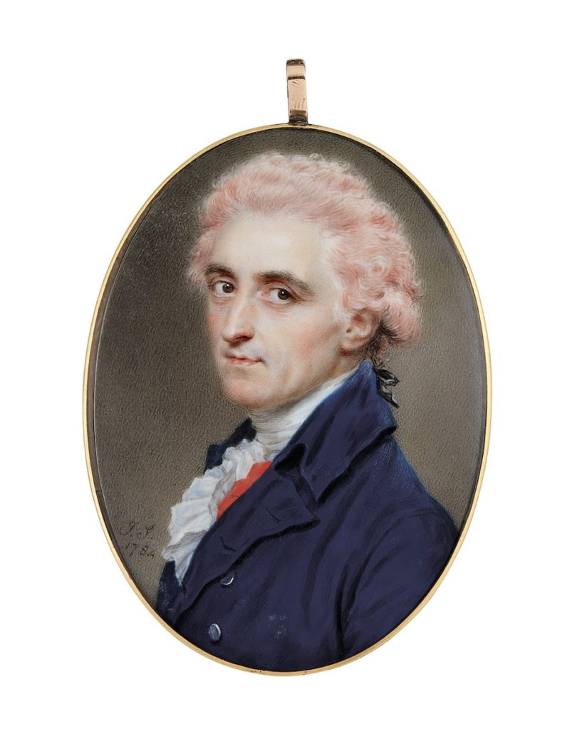 "John Smart, ""Colonel James Hamilton"", 1784, 5,4 x 4,1 cm, Sotheby's, London, Foto: Sotheby's, London"