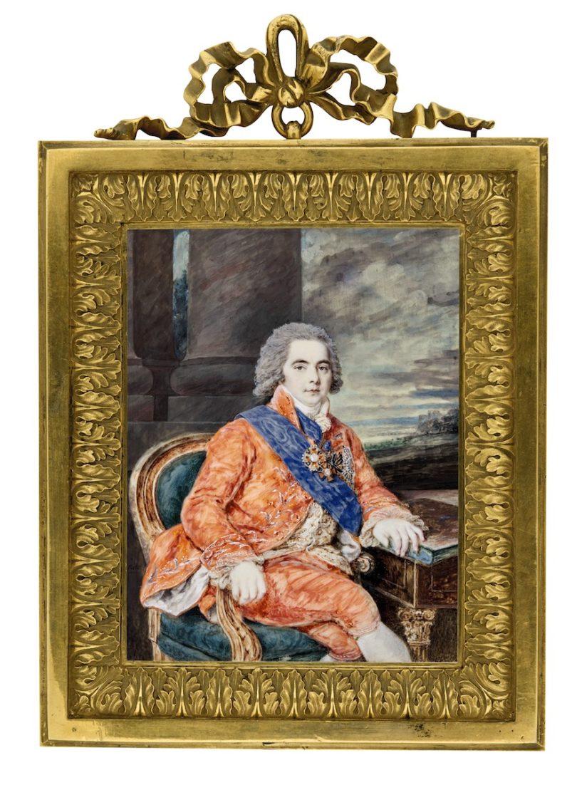 "Augustin Ritt, ""Fürst Kurakin"", 1798, 15,4 x 12 cm, Sotheby's, London, Foto: Sotheby's, London"