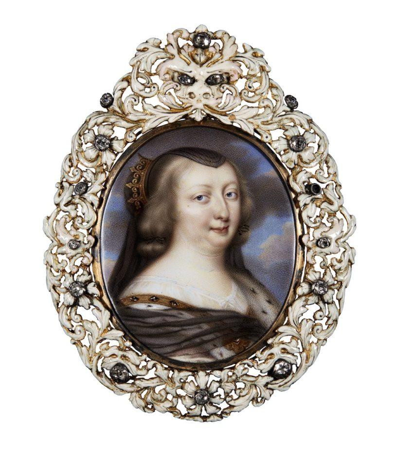 """Henri Tountin, """"Anna von Österreich"""", um 1660, 4 x 3,3 cm, Sotheby's, London, Foto: Sotheby's, London"""