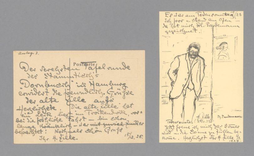 Heinrich Zille wohl aus Berlin am 15. Dezember 1926. (200 Euro) Foto: Stargardt