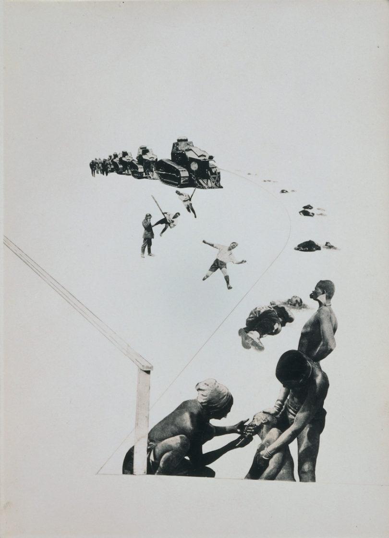 László Moholy-Nagy, Militarismus, 1924/1940, Foto: Bucerius Kunst Forum, Hamburg