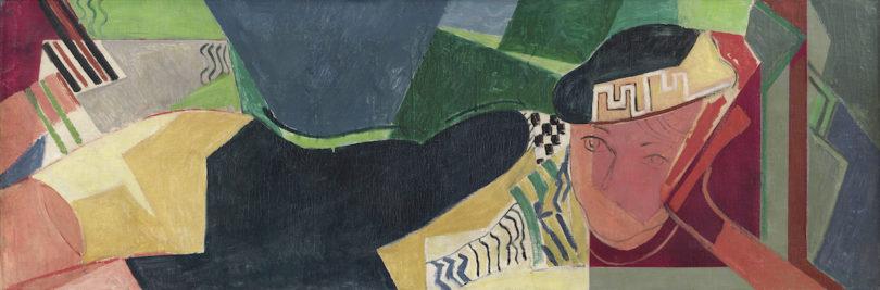 Oskar Moll, Liegende, um 1931, Öl auf Leinwand, Privatsammlung, Foto: Serge Hasenböhler