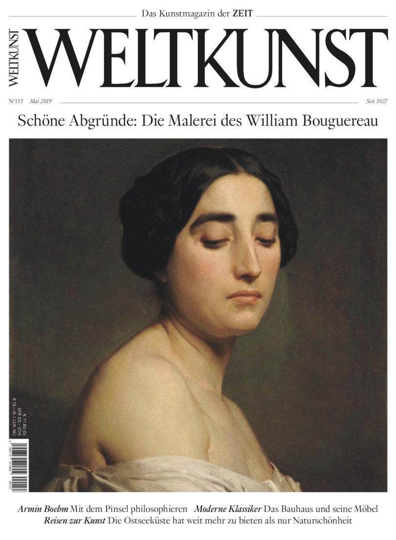 """Unser Covermotiv """"Le Dédain"""" (""""Die Verachtung"""") von William Bouguereau gewann er 1850 an der Akademie den Wettbewerb um den besten """"ausdrucksstarken Kopf"""""""
