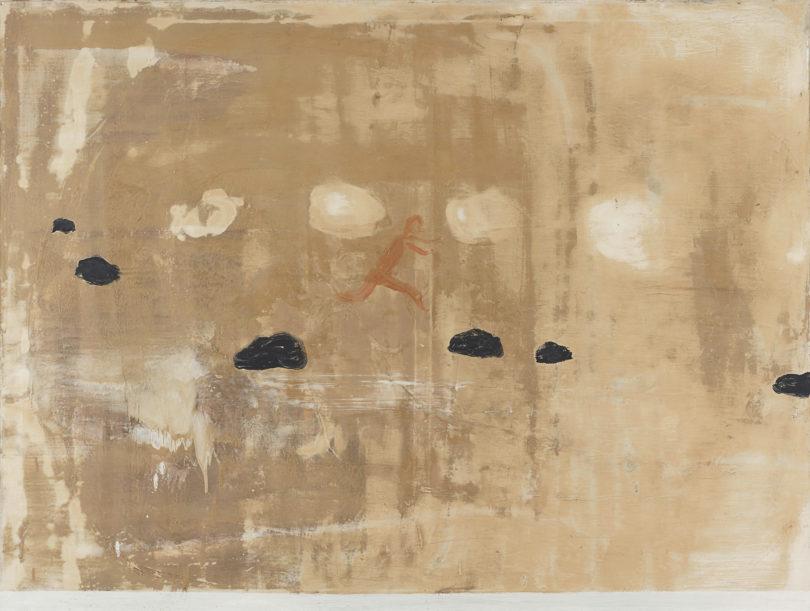 """Norbert Schwontkowski, """"Anleitung für die junge Generation schnell durch ein Bild zu kommen"""", 1993, Bild: Tobias Hübel, Kunstverein Bremerhaven"""