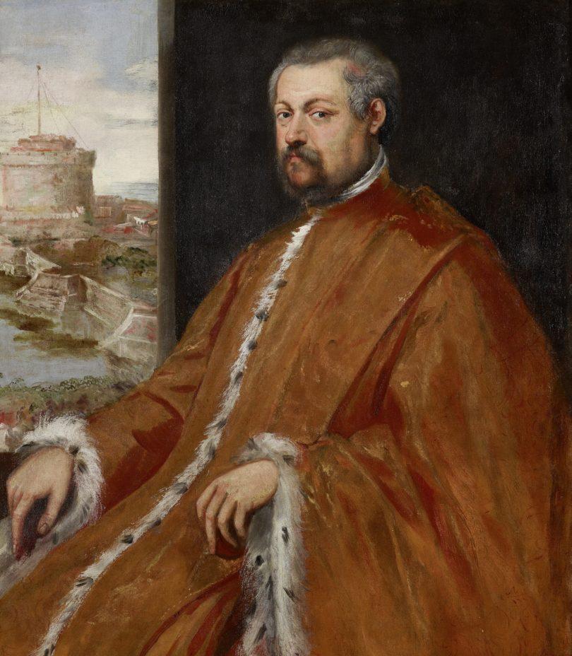 Jacopo Robusti, gen. Tintoretto, Prokurator und Cavaliere Paolo Tiepolo, um 1578, Öl auf Leinwand, Leihgabe der BRD, 2011, Foto: Wallraf-Richartz-Museum & Fondation Corboud, Köln