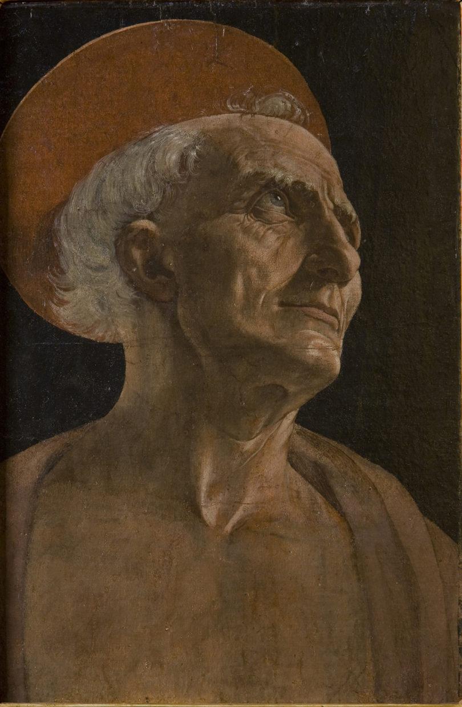 Andrea del Verrocchio, Heiliger Hieronymus, ca. 1465–70, Florenz, Uffizien, Foto: Francesco del Vecchio