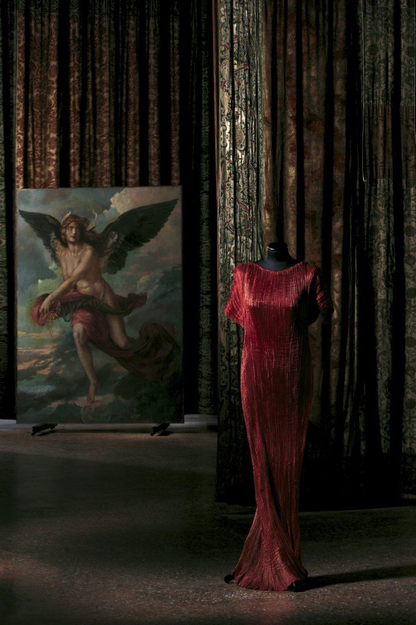 Mariano Fortuny Madrazo: Delphos Dress, Palazzo Fortuny. Foto: Fondazione Musei Civici