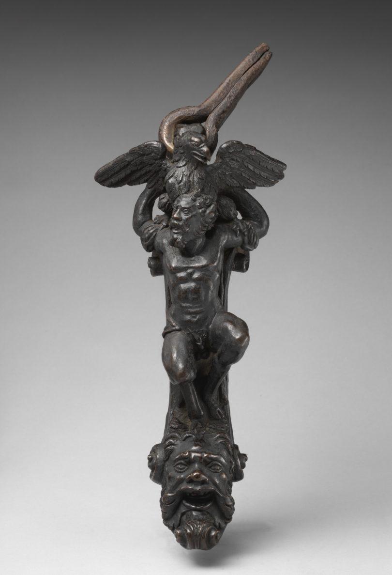 Türklopfer von anonymem Künstler im Metropolitan Museum, Bild: Metropolitan Museum, Fletcher Fund, 1949