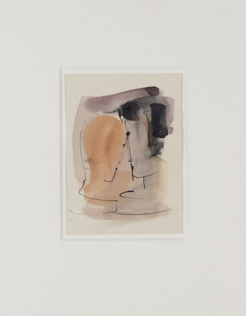 Oskar Schlemmer, Künstlerpostkarte