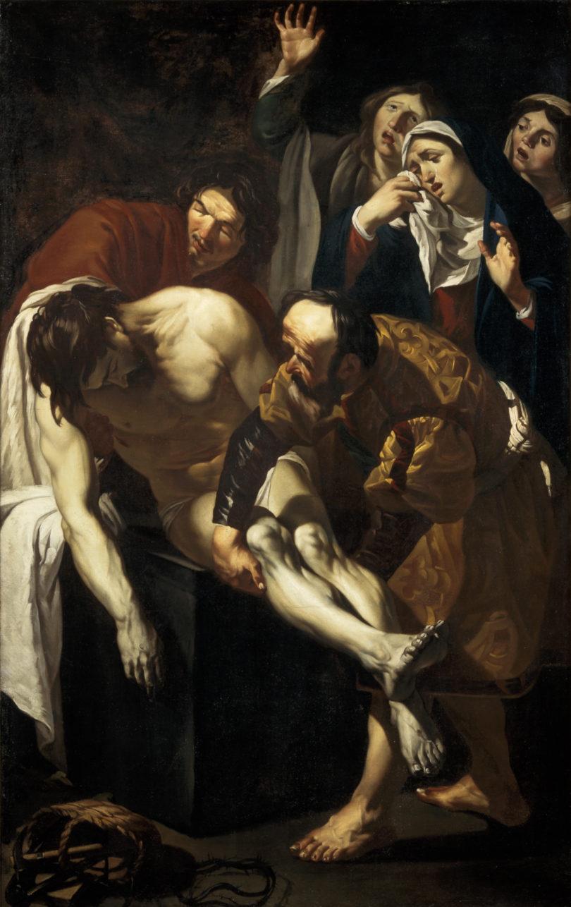 """Dirck van Baburen, """"Grablegung Christi"""", 1617/18, Foto: Ernst Moritz, Cantraal Museum, Utrecht"""