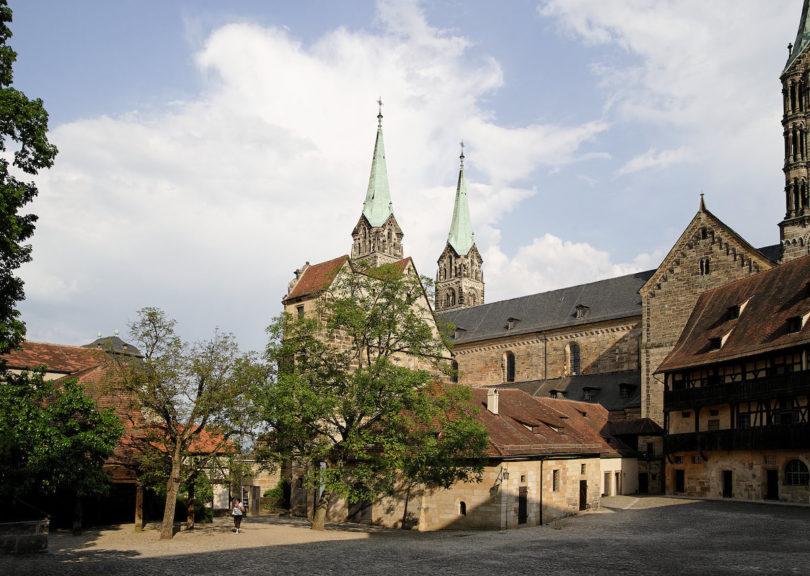 Alte Hofhaltung in Bamberg mit Blick zum Kaiserdom, Foto: Reinhard Feldrapp © BAMBERG, Tourismus & Kongress Service