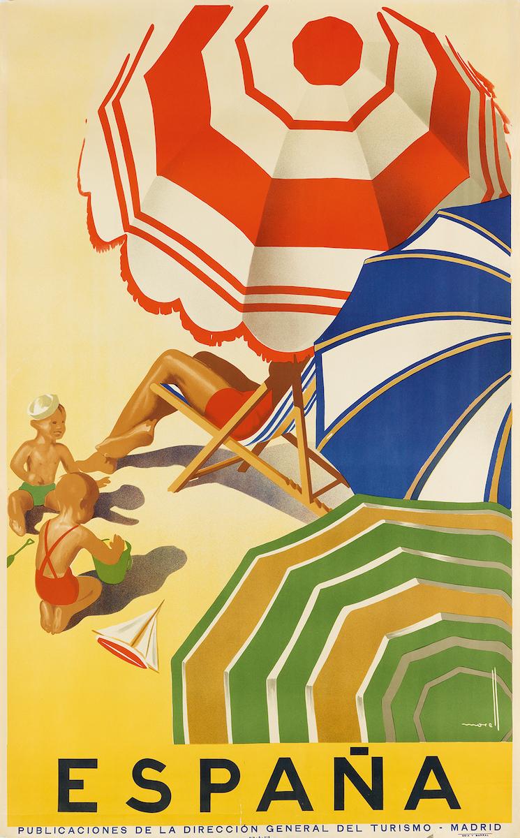 """José Morell, """"España"""", circa 1939, Taxe 700 $, Foto: Swann Auction Galleries, New York"""