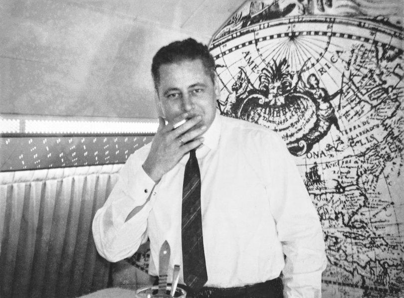 Der Kunsthändler und Sammler Rudolf Neumeister in jungen Jahren, Foto: Neumeister/privat