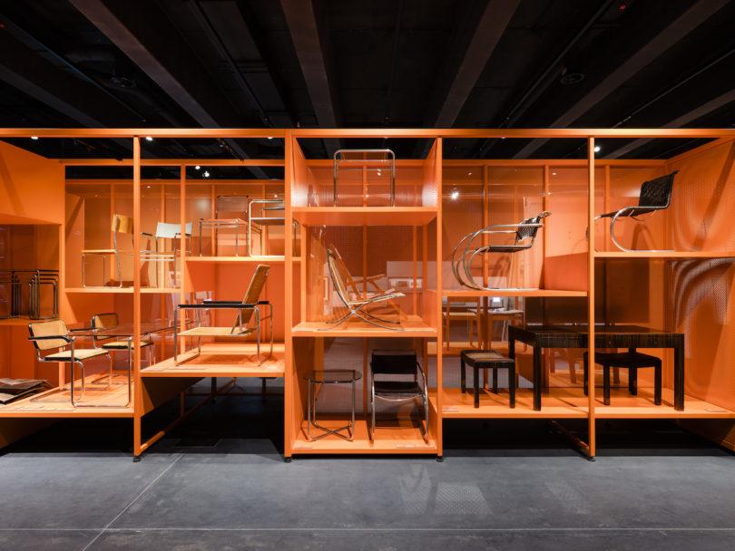 Ausstellung Versuchsstätte Bauhaus. Die Sammlung – Horizont Fabrik Stiftung Bauhaus Dessau, Foto: Thomas Meyer / OSTKREUZ, 2019