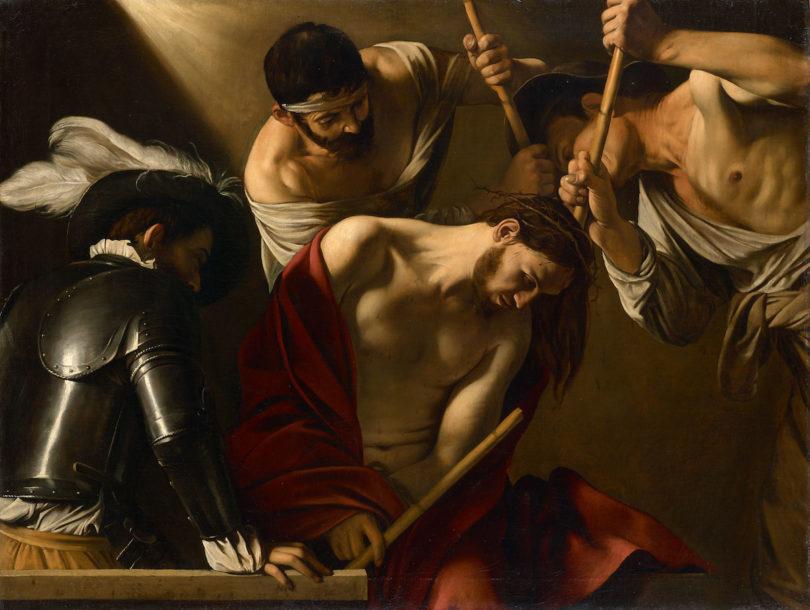 Caravaggio, Dornenkrönung Christi, um 1601, Foto: KHM-Museumsverband