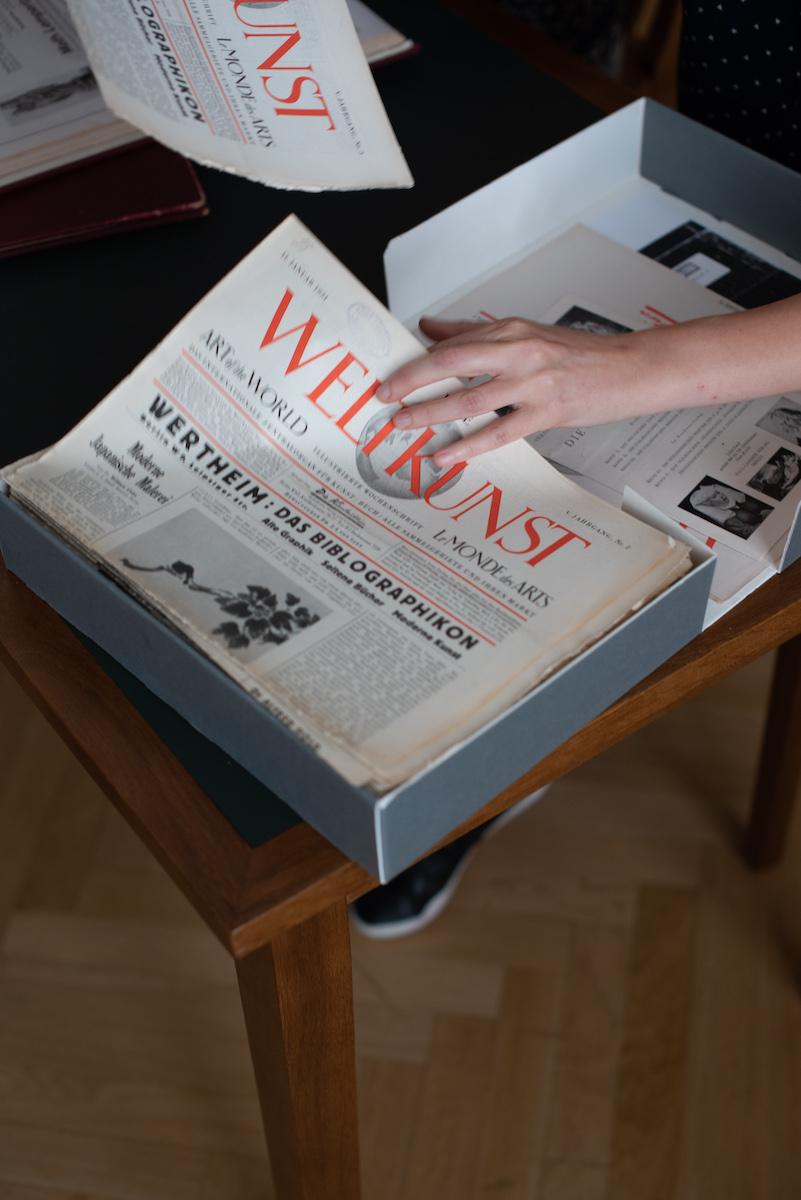 Die Weltkunst ist die wichtigste deutsche Chronik des Kunstmarktes und der Museen in den Dreißigerjahren, Foto: Peter Wolff für WELTKUNST