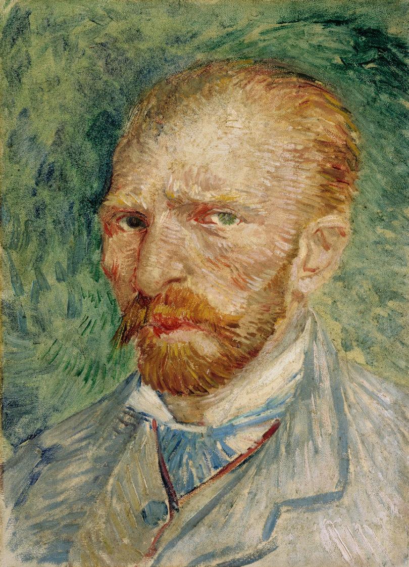Vincent van Gogh (1853–1890) Selbstporträt, 1887, Öl auf Karton, 32,8 x 24 cm Kröller-Müller Museum, Otterlo, Foto: © Indien van Toepassing, Amsterdam