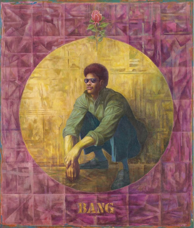 "Charles White, ""Banner for Willie J."