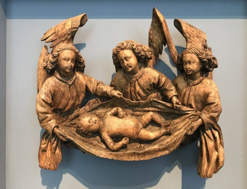 """Die """"Drei Engel mit dem Christuskind"""" wurde den Saulmann-Erben zurückgegeben. Das Berliner Bode-Museum hat das das Werk 2018 dauerhaft erworben, Foto: © LUPA Film"""