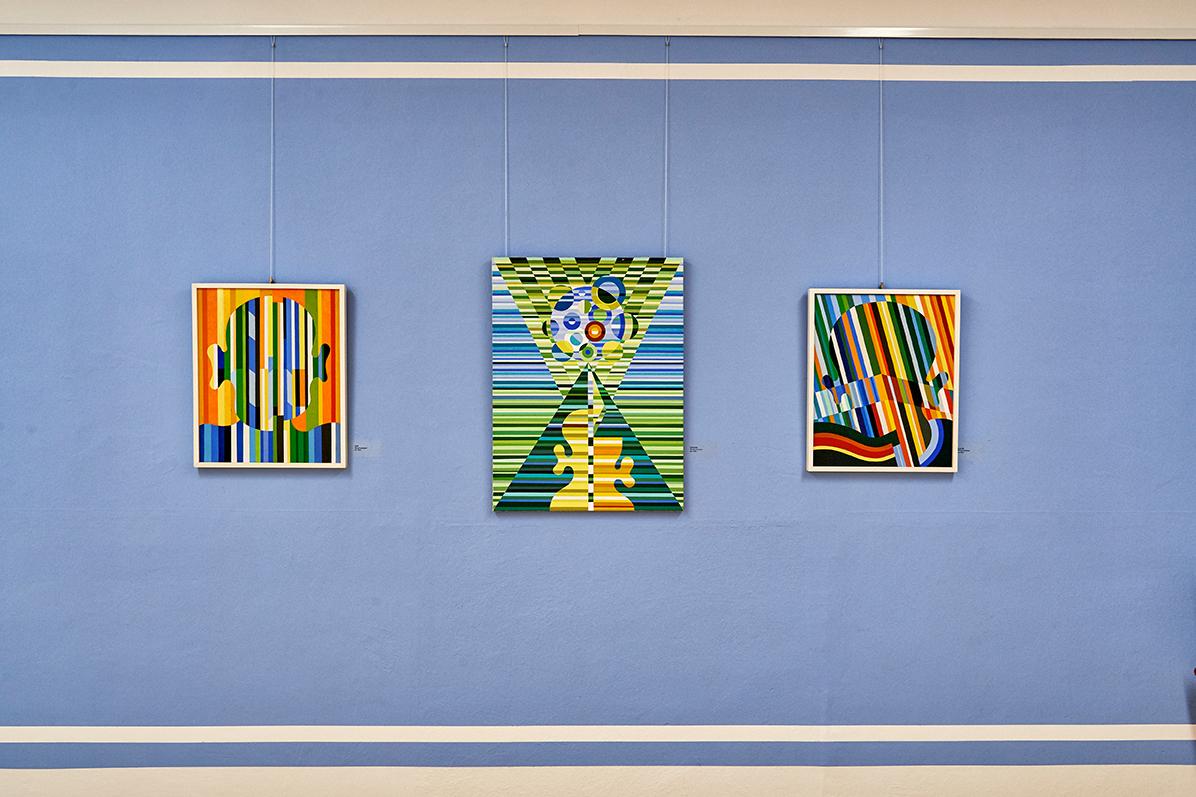 Das Ludwig Gebhard Museum in Tiefenbach zeigt Farblinolschnitte des Künstlers, Foto: www.bayern.by - Florian Trykowski