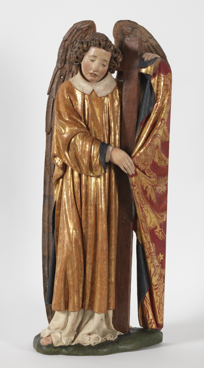"Jan Van Eyck, ""Engel mit den Arma Christi"