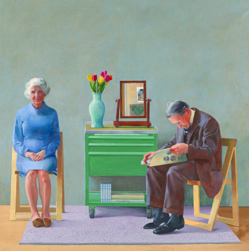 "David Hockney, ""My Parents"", 1977, Abbildung: Tate, London 2019, © David Hockney"