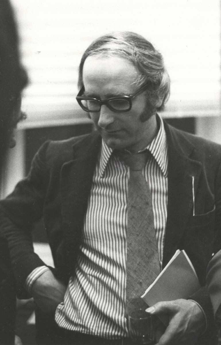 Reinhard Müller-Mehlis 1973 in München, Foto: Courtesy Daniel McLaughlin