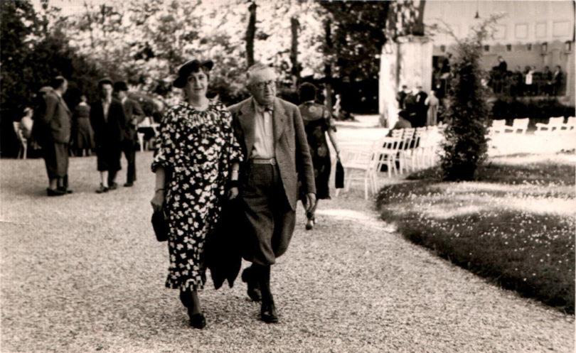 """Um ihre Ausreise aus Deutschland zu ermöglichen, verkauften Leo und Else Bendel (hier kurz nach der Ankunft in Wien) Hausrat und Kunstsammlung – darunter auch Carl Spitzwegs """"Justitia"""