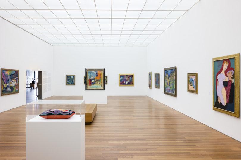Die Ausstellungsräume des Kirchner Museums in Davos, Foto: Stephan Bösch