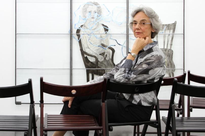 Die Galeristin Barbara Gross, fotografiert von Marco Funke