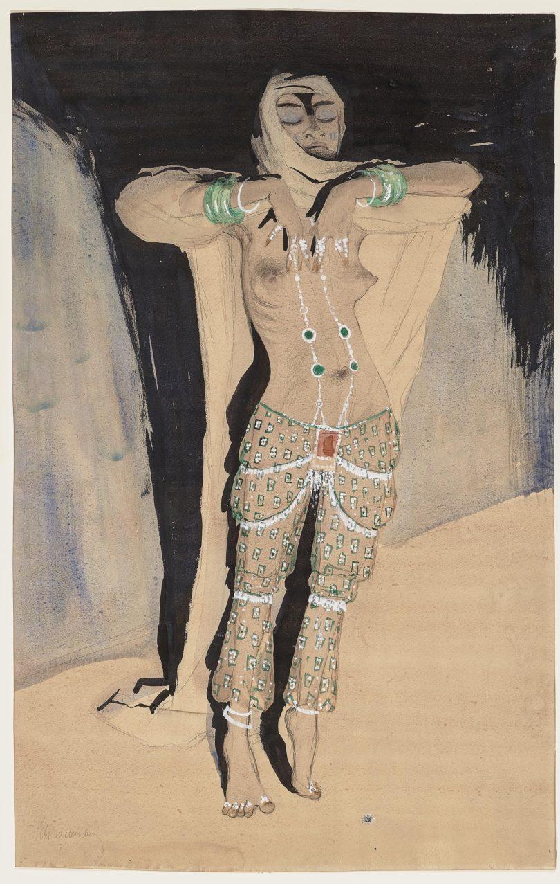 Walter Schnackenberg: Tänzerin, Foto: Kunkel Fine Art
